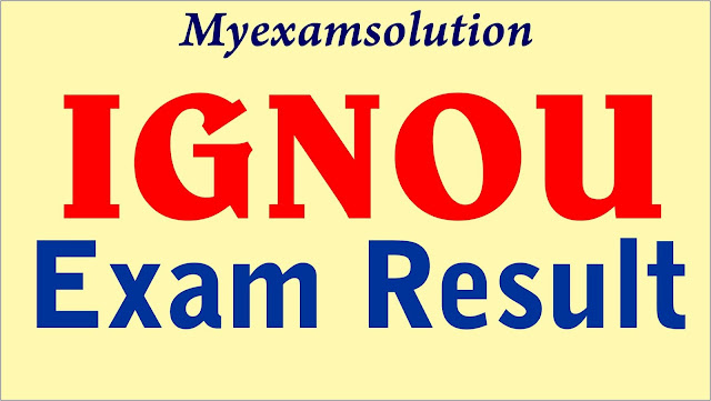 ignou result ; ignou june result