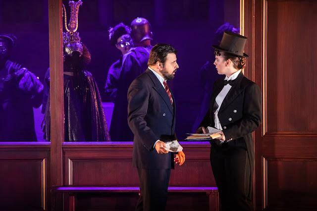 Verdi: Un ballo in maschera - Matteo Lippi, Alison Langer - Opera Holland Park 2019 (Photo Ali Wright)
