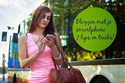bloggen met je smartphone