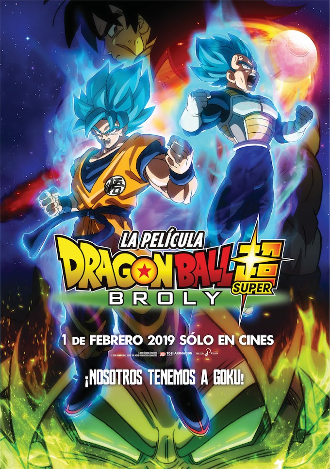 Dragon Ball Super Broly [HD] [ligero] [Pelicula] [Mega]