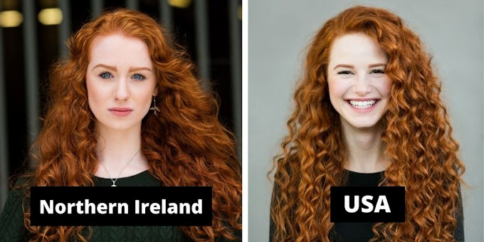 """Photographer Brain Dowling travels the world with his unique picture project """"Redhead Beauty"""""""