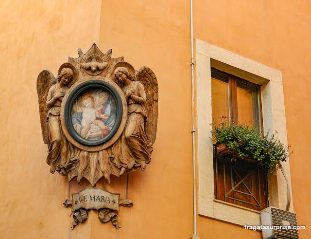 Oratório de rua em Roma
