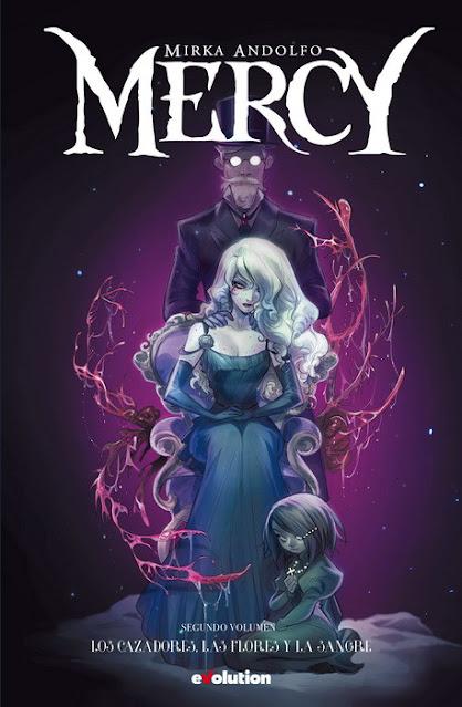 Review del cómic Mercy Vol.2 de Mirka Andolfo - Editorial Panini