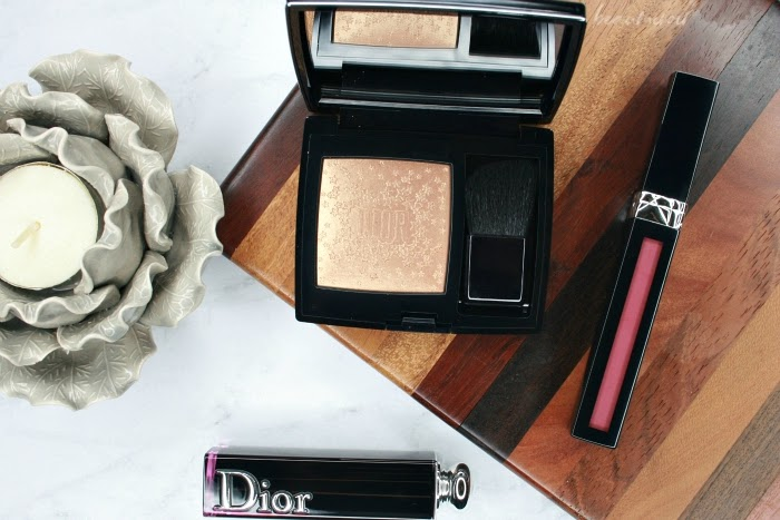 #FrenchFriday - Dior Holiday 2018 Highlighter: Rouge Blush Midnight Wish