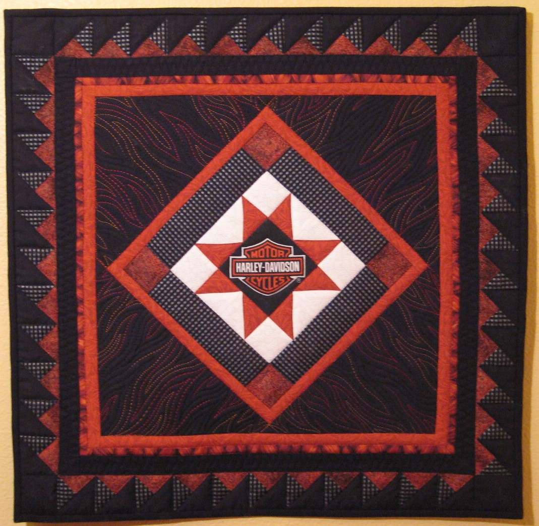 Quilt to the Edge    : Debriefing the Boxer-Another Harley