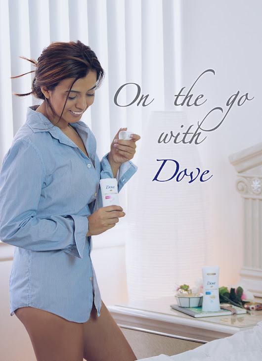 On The Go With Dove ~ MARIESTILO