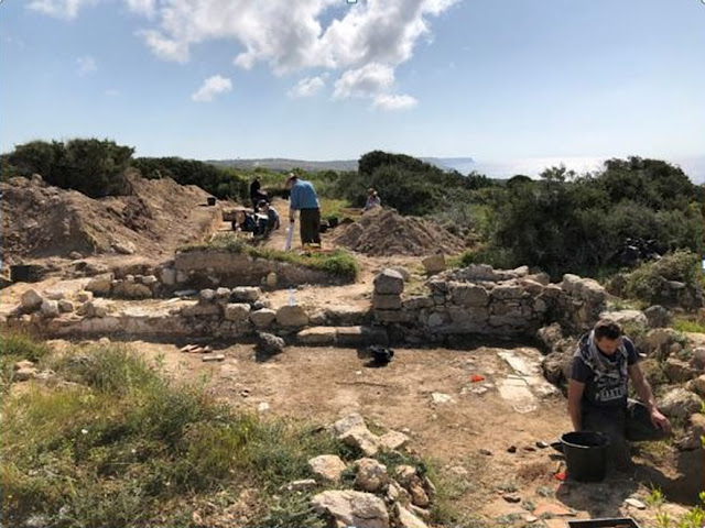 Completion of the 2019 Ancient Akrotiri Project