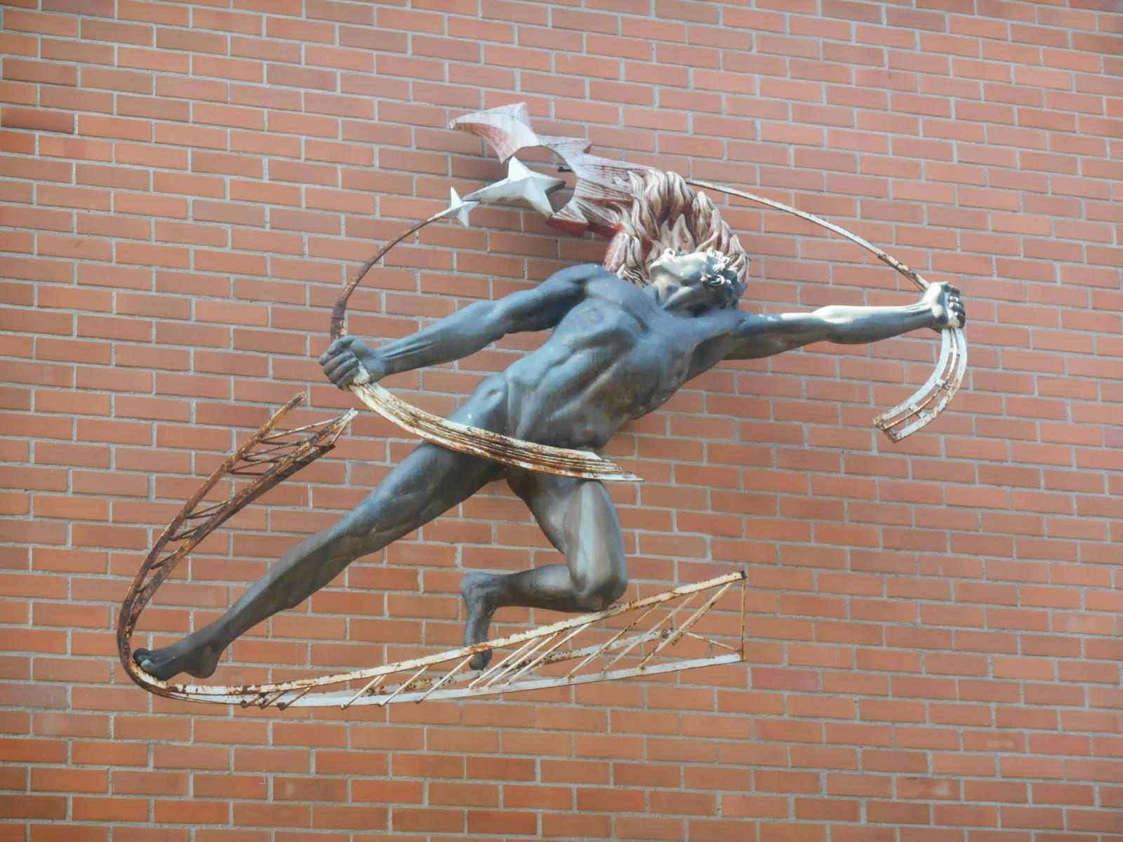 """Una foto de la escultura """"Prometeo encadenado"""", de Rodrigo Arenas Betancourt, tomada por Leonardo Bernal Tobón"""