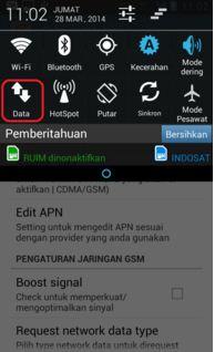 Cara Mengaktifkan Data Gsm di Smartfren