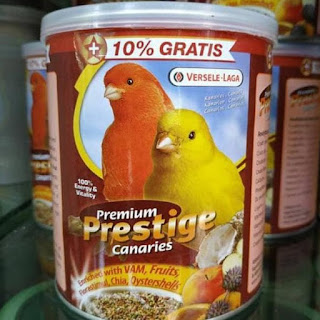 Pakan premium prestige canaries versele