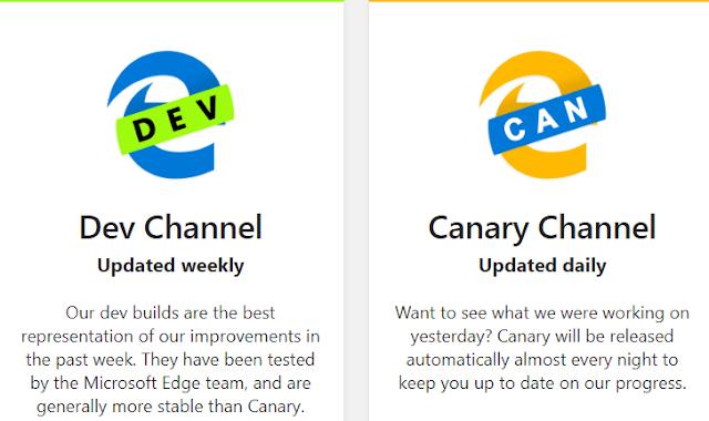Microsoft Edge يمكنك الآن من تثبيت مواقع الويب على شريط المهام
