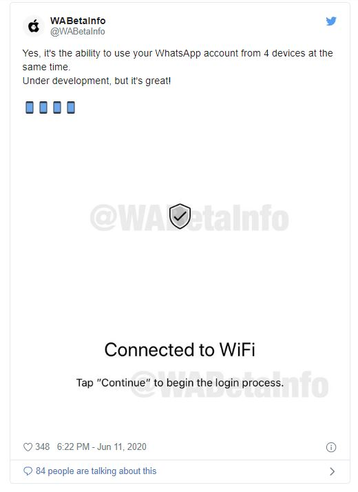 WhatsApp: Soon an account with up to 4 devices can be used - tests are running