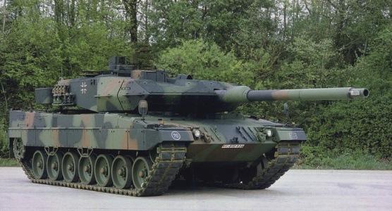 Tank Leopard 2A6