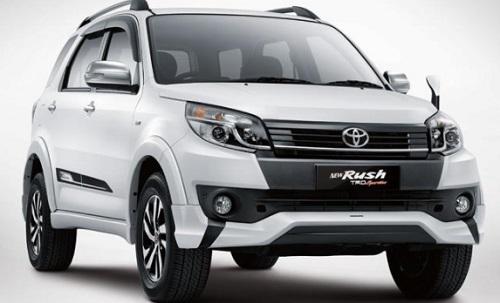 Harga Moblil Toyota Rush Bekas