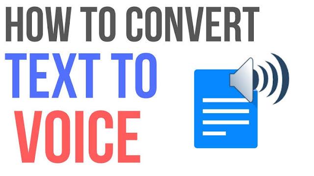Text to speech converter
