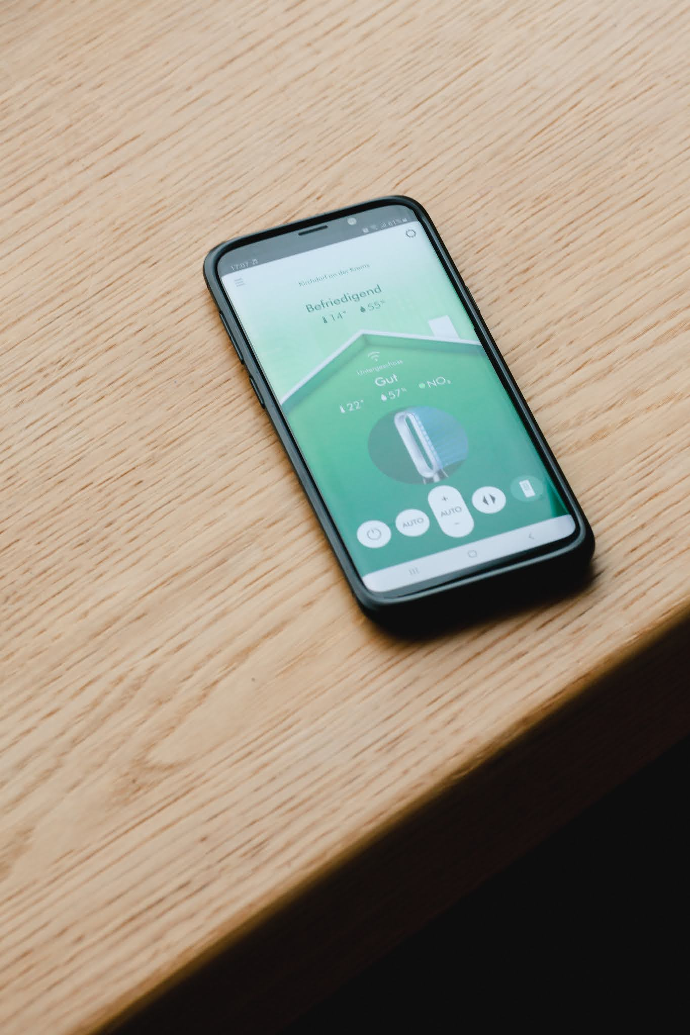 Dyson pure cool per App steuerbar