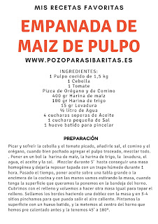 Receta Empanada de Pulpo