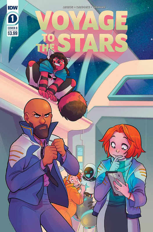 Cover of Voyage to the Stars #1