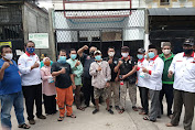 Penyemprotan Disinfektan Wilayah RW. 08 tanah Sereal Diikuti Ormas Bang Japar dan Alumni Camp Java Hoya 25