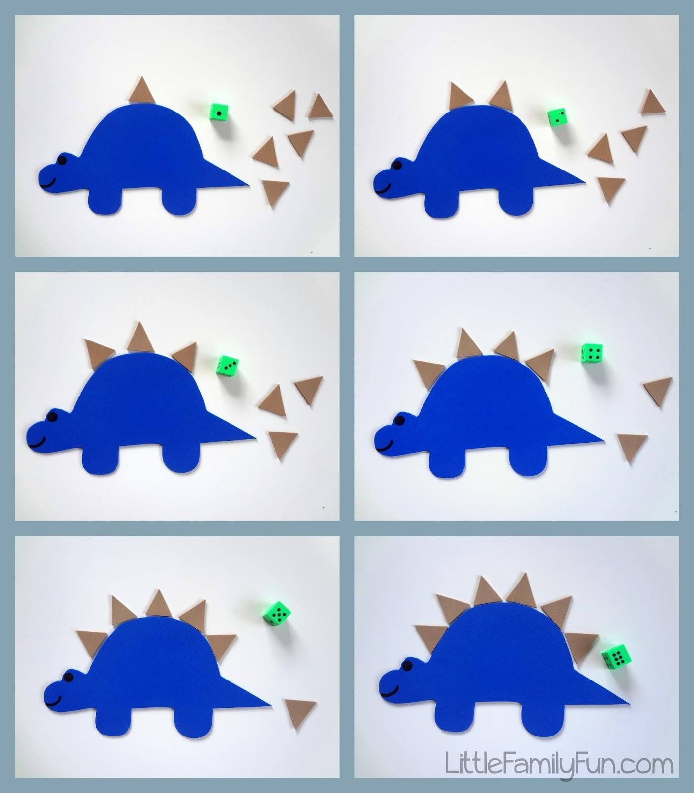 Stegosaurus Counting Game