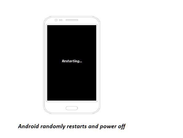 Android mati restart