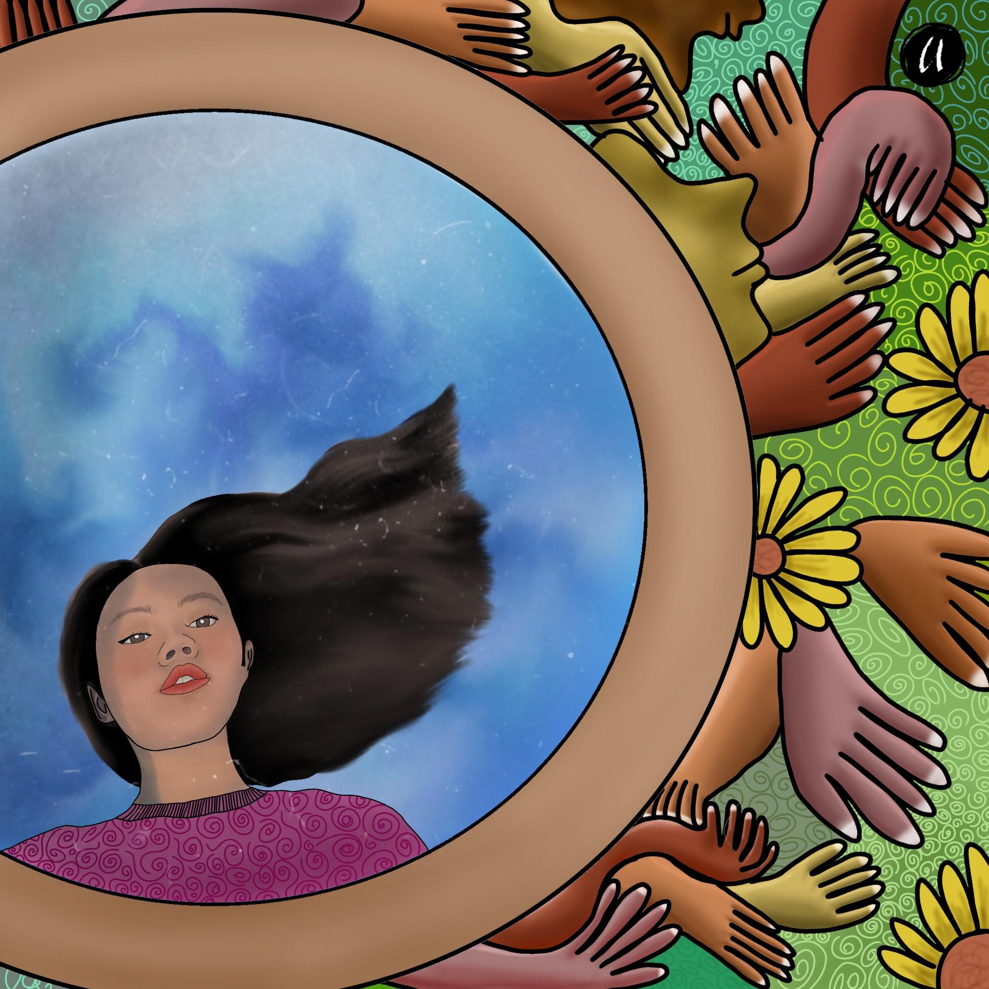 Membuat Gambar Ilustrasi uwan urwan yura yunita