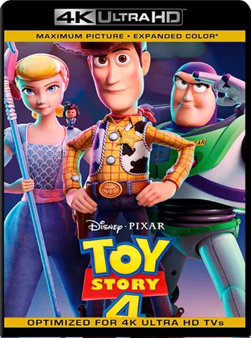 Toy Story 4 (2019) 4K 2160p UHD [HDR] Latino [GoogleDrive]