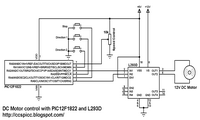 Motor Control with PIC microcontroller