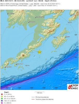 Powerful 7.0-Magnitude Earthquake Hits Alaska