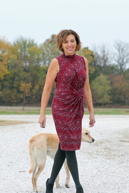 McCall's 7429 in jersey knit from Style Maker Fabrics