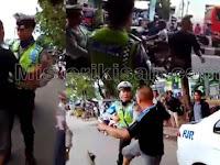 Tilang Siswi SMP di Palembang, Polisi ini dihajar Oknum TNI