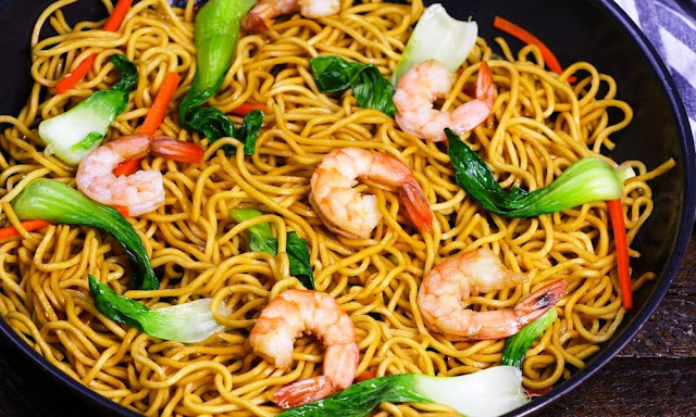 Shrimp Chow Mein -1