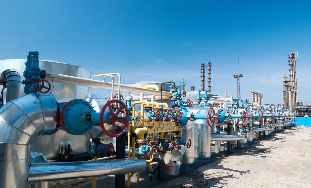 foto industri pengolahan gas alam