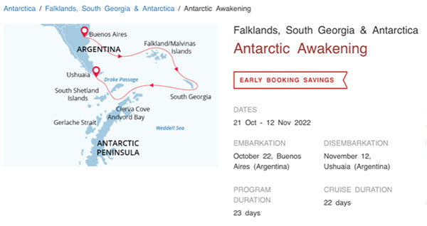 Get ready for your cruise to Antarctica in October 2022 (Source: www.poseidonexpeditions.com)