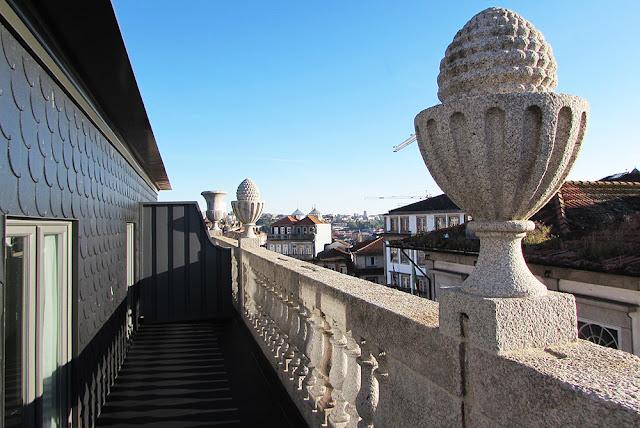 vista do Hotel Pestana Goldsmith Porto
