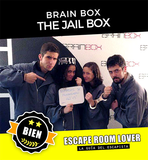 Brain Box - The JailBox - Escape Room - Opiniones
