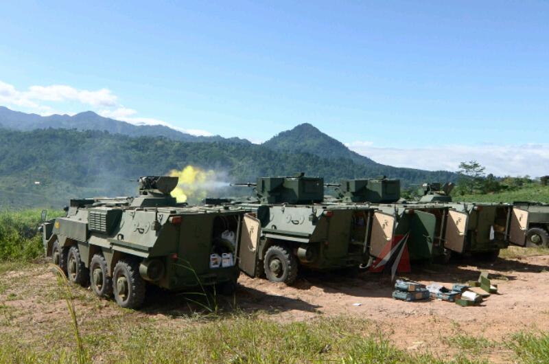 БТР-4М Індонезійської морської піхоти