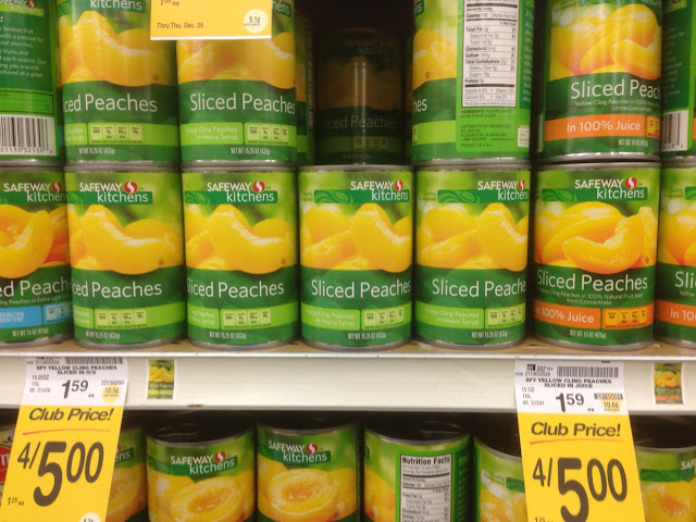Sliced Peaches, Safeway Kitchens - Safeway