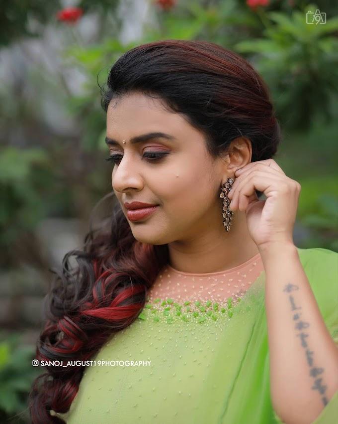 South Indian Playback Singer Sithara Krishna Kumar Latest Photoshoot Stills