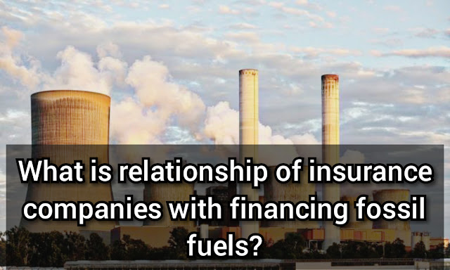 Auto insurance companies and fossil fuels
