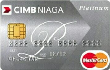 CIMB Niaga Master Card Platinum