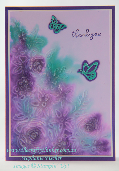 #thecraftythinker  #stampinup  #cardmaking  #springtimeimpressions  #butterflybeauty , Springtime Impressions, Butterfly Beauty, Stampin' Up Demonstrator, Stephanie Fischer, Sydney NSW