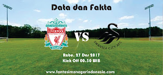 Data dan Fakta Fantasy Premier League Liverpool vs Swansea Fantasi Manager Indonesia