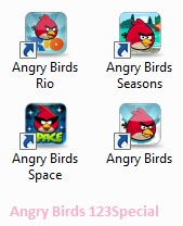Angry Birds PC Game Computer Software