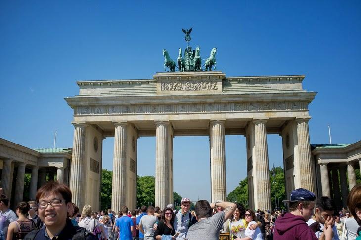 Passagem Gastronômica - Bradenburg Gate - Berlim - Alemanha