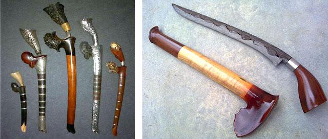 Gambar Badik Tumbuk Lada senjata tradisional Riau