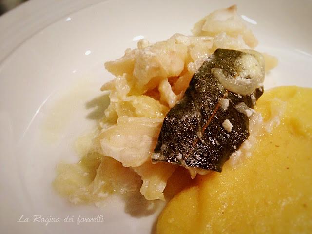 polenta e merluzzo