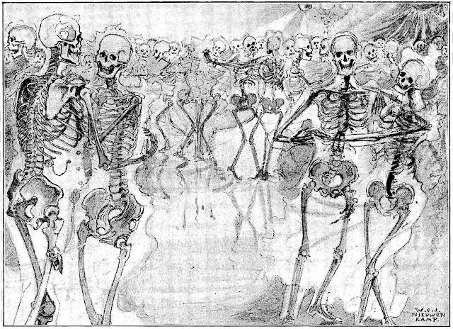 W.O.J. Nieuwenkamp 1896, an x-ray dance floor of skeletons
