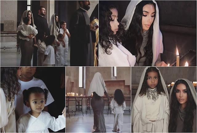 Kim Kardashian también se bautizó en Armenia