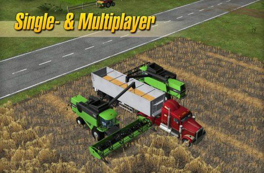 Big Farm Tractor Simulator